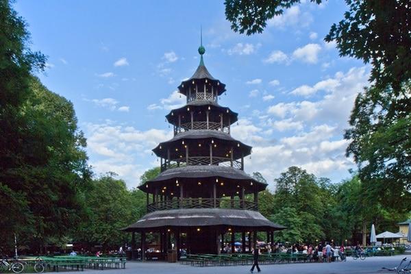 الحديقة الانجليزية ميونخ اماكن سياحية في ميونخ
