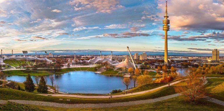 الحديقة الاولمبية اماكن سياحية في ميونخ