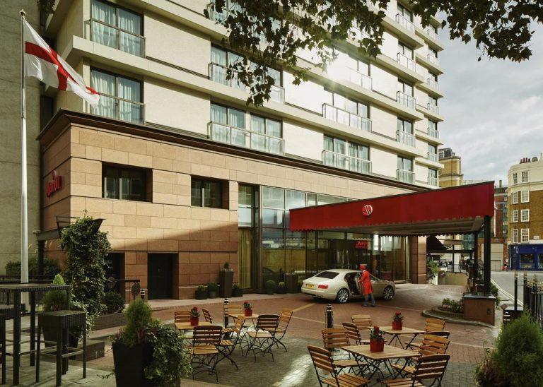 فندق ماريوت لندن ماربل آرتش - فنادق لندن شارع العرب
