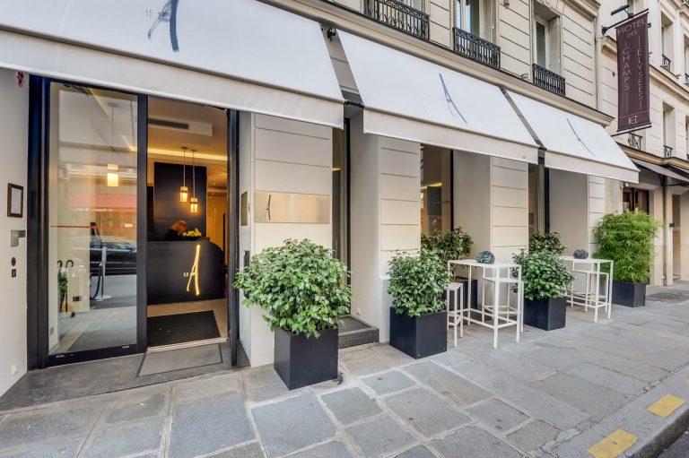 فندق لو آه - فنادق باريس القريبه من الشانزليزيه